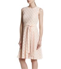 TOMMY HILFIGER® 12, 14 Polka Dot Sleeveless Belted Dress NWT $129