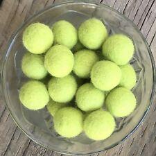 2cm Felt Balls - Laurel Green Handmade Wool Beads Pom Pom Home Decor DIY Crafts
