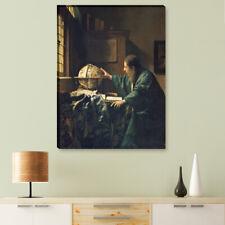 "WANDKINGS Leinwandbild Jan Vermeer - ""der Astronom"""