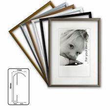 Alu frames Kingsale®, picture frame aluminum, 6 different colors