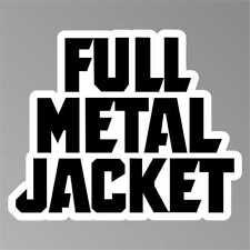 adesivo  FULL METAL JACKET     sticker aufkleber pegatina