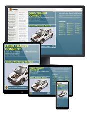 Ford Transit Connect Diesel (2002-2011) 02 to 11 Haynes Online Manual