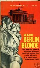 Heiße Berlin blond von Wilhelm kuenne (1962) Epic PB