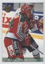 1995 Leaf Elit Set Sweden 145 Alexander Beliavski Vastra Frolunda HC Hockey Card