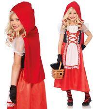 Little Red Riding Hood Girls Costume Dress Cape LegAvenue Longer Skirt Book Week