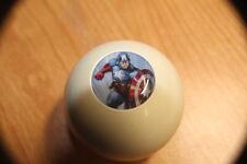 Captain America Golf Marker Pool Ball Shift Knob / Transfer  for Jeep YJ TJ JK