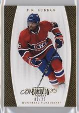 2011-12 Panini Dominion Gold #51 PK Subban Montreal Canadiens P.K. Hockey Card