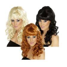 Damen 1960s Jahre Bienenstock Beauty Diva Perücke Retro Kostüm Henne Do Amy