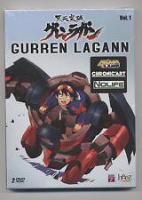 NEUF DVD GURREN LAGANN VOL. 1 SOUS BLISTER 2 DVD 9 EPISODES ANIME JAPONAIS MANGA