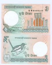 Bangladesh 2 Taka 2002 fresco cassa Pick 6e