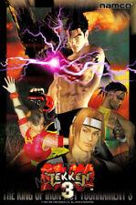 RGC Huge Poster - Tekken 3 PS1 PS2 Arcade GLOSSY FINISH  - NVG101