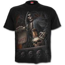 Spiral Gothic T-Shirt Schwarz - Judge Grim Reaper Hölle Inferno Tod Sensenmann