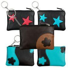 Schlüsselmäppchen Leder Schlüsseletui Minibörse Motiv- Farbauswahl OPS601X
