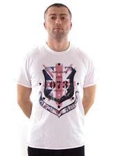 PEPE JEANS Camiseta Nicki deportiva Blanca Nueva Flag1 Impresión Cuello Redondo