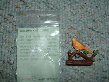 Elastolin  Weichplastik Bird  Goldfink  Bagged RARE