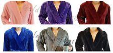 Men Premium High Quality Shawl Collar Velour Plush Thick Bath Robe Spa & Hotel