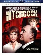 HITCHCOCK(BLU-RAY,DVD, DIGITAL,  2002)ANTHONY HOPKINS HELEN MIRREN SCARLETT JOHA