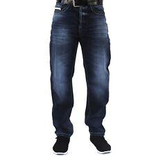 Viazoni Jeans Carlos (schmalere Karottenjeans-Herrenjeans-Saddle Schnitt)