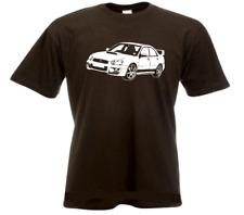 SUBARU IMPREZA WRX CAR T SHIRT