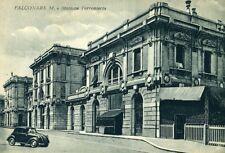 """""""  FALCONARA M. (AN) : Stazione Ferroviaria """"  Periodo  Fine Anni 50"""