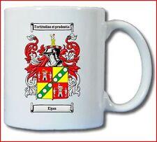EGAN (IRISH) COAT OF ARMS COFFEE MUG