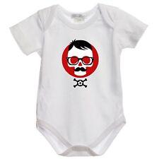 J243 body Bimbo Hipster Skull Bambino 100% cotone Bimba