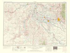 Topographical Map Print - Boise Idaho, Oregon Quad - USGS 1962 - 23 x 30.12