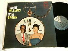COOTIE WILLIAMS & WINI BROWN Around Midnight George Duvivier Jaro dg LP