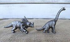Pewter Dinosaur Triceratops Or Brontosaurus Drawer Pull Cabinet Metal Knob