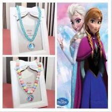Disney FROZEN Elsa Anna Girls Necklace Christmas Gift Dress Up Party XMAS GIFT