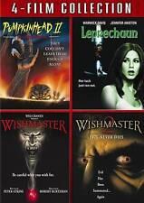 Pumpkinhead II/Leprechaun/Wishmaster/Wishmaster 2 (DVD, 2011, 3-Disc Set)