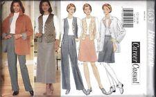 Vintage Butterick SEWING Pattern 4938 Misses Jacket Top Skirt Pants J G Hook FF