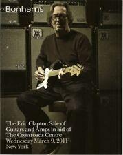 BONHAMS Clapton Crossroads Guitars Amps Fender Gibson Auction Catalog 2011