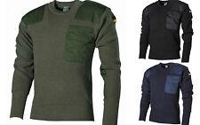 MFH Maglia Maglione uomo militare esercito Tedesco BW Pullover 05021