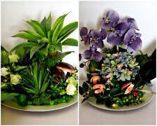EXC. Orchidée Art Fleur Décoration de Table métier bureau décoration arrangement ln17