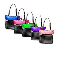Girls Tote Bag Tap, Jazz, Ballet, Gymnastics Bag Silver Sequin Select Color