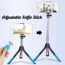 For GoPro Camera bluetooth Selfie Stick Tripod Monopod Remote+ Phone Clip  !