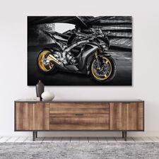 LEINWAND BILD WANDBILD HONDA CBR 1000 RR FIREBLADE KUNSTDRUCK MOTORRAD BILDER