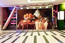 Papel Pintado Mural De Vellón Cerámica Mantel Naranja 22 Paisaje Fondo Pantalla