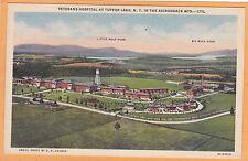 Tupper Lake NY Postcard - Veterans Hospital