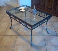 Tavolino ferro battuto - Arredamento, mobili e accessori per la ...