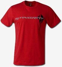 CORVETTE C7 T-SHIRT RED 7th GEN.STINGRAY C7 LOGO PREY TEE S-XL22.992X,3X FSNEW