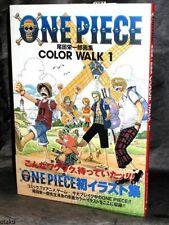 ONE PIECE COLOR WALK 1 ANIME ARTBOOK MANGA NEW