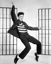 1957 Rock n Roll Singer ELVIS PRESLEY Glossy 8x10 Photo 'Jailhouse Rock' Print