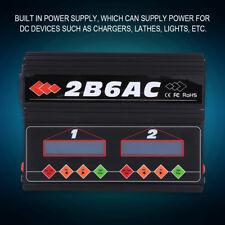 50W *2 RC Cargador Equilibrado para RC Batería LiPo LiFe Lilon LiHV NiCd NiMh Pb