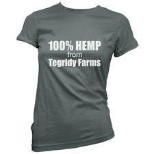 2e36ee410f43 Tegridy Farms Da Donna T-shirt (seleziona colore e dimensioni) regalo  CARTMAN Canapa