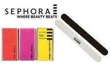 Sephora Professionnel Black/White Nail Files x2 or 4in1 :buff,polish,shine,file