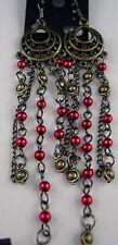 Ohrringe lange Ohrhänger Serie 1001 Nacht Perlen Schweif mit und ohne Herzen
