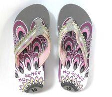 Mädchen Badeschuhe grau pink Größe 28 29 30 35 Zehen Schuhe INDIAN NEU