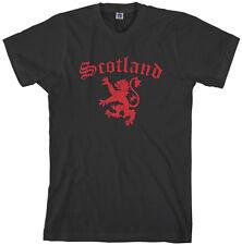 Threadrock Men's Lion Rampant Of Scotland T-shirt Royal Flag
